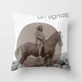 art signals  Throw Pillow