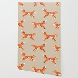 Fractal geometric fox Wallpaper