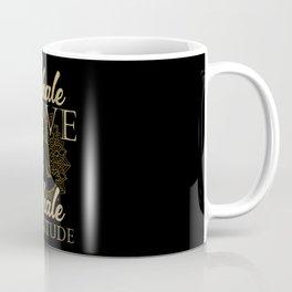 Inhale Love Exhale Gratitude - Yoga Namaste Health Coffee Mug
