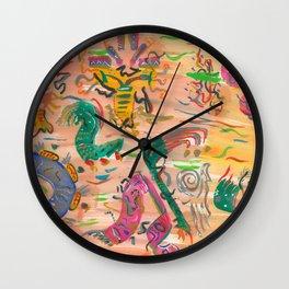 Fiesta Color Wall Clock