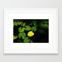 pac man Framed Art Prints featuring Pac-Man by Monica Ortel ❖