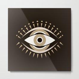 Mystic Evil Eye Metal Print