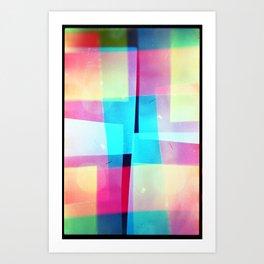 constructs #2 (35mm multiple exposure) Art Print