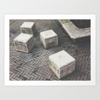 concrete Art Prints featuring Concrete by Giulia Torra