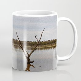 Dead Trees in the River Coffee Mug