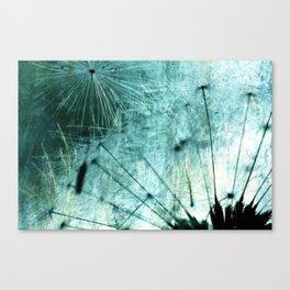Dandelion Art 7 Canvas Print