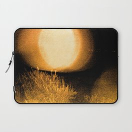 Dark Night Amber Laptop Sleeve