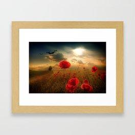 Royal Air Force Tribute Framed Art Print