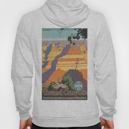 Vintage poster - Grand Canyon Hoody