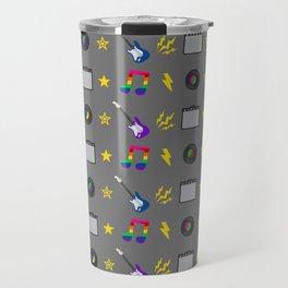 Punk Rock Rainbows Travel Mug