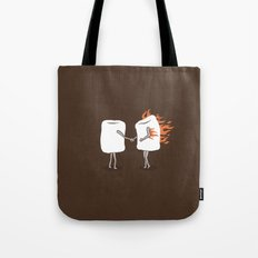 Mallow on Fire Tote Bag