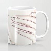 naked Mugs featuring Naked by Kate Ilyina