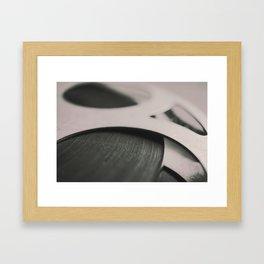 Movie Reel Framed Art Print