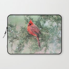 Christmas Bird (Northern Cardinal) Laptop Sleeve