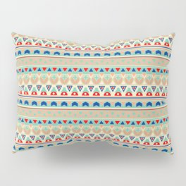 Ethnic ornament , 12 Pillow Sham