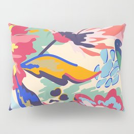 Forest and roses Pillow Sham