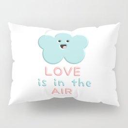 Love Is In The Air Blue Cloud Pillow Sham