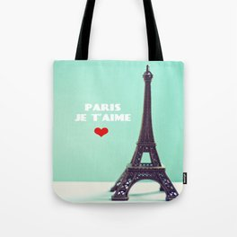Paris Je T'aime Tote Bag