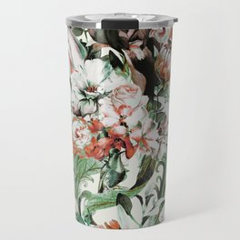 Exotic flowery abstract bouquet Travel Mug