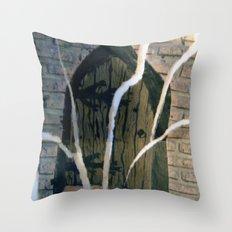 magic door Throw Pillow