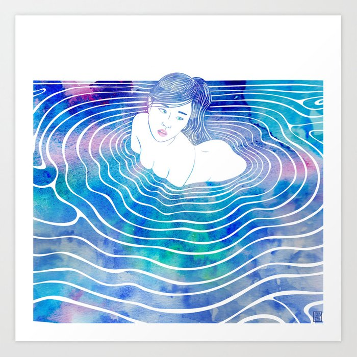Water Nymph LXXXIX Art Print