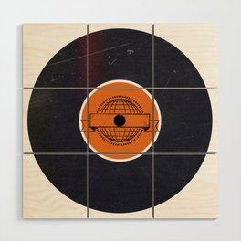 Vinyl Record Art & Design | World Post Wood Wall Art
