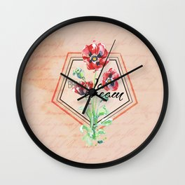 Bring me a Dream Wall Clock