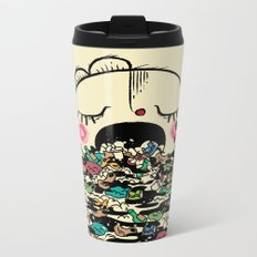 Save the fishes Metal Travel Mug