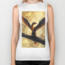 Archaeopteryx Lithographica Commission Biker Tank