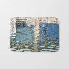 Reflecting Blues Bath Mat