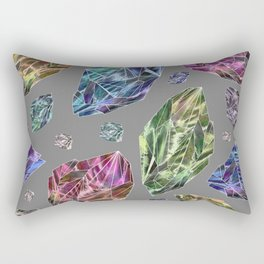 Asteroids in Space Rectangular Pillow