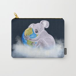 Koala in Heaven - Climate Change Awareness Carry-All Pouch