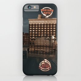 Western Auto Kansas City iPhone Case