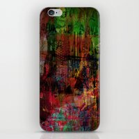 brussels iPhone & iPod Skins featuring Quartier des Marolles ( Brussels ) by Ganech joe