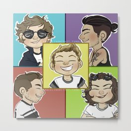 itty bitty wee one direction Metal Print