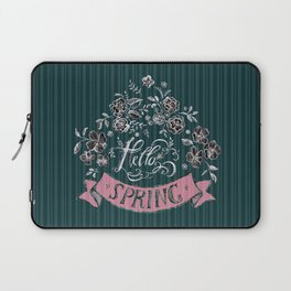 Hello Spring (2) - by Fanitsa Petrou Laptop Sleeve