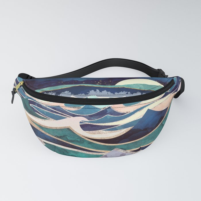 Moonlit Ocean Fanny Pack