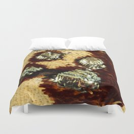 BUTTERFLY MAGNIFIED - ANTEROS FOMOSUS Duvet Cover