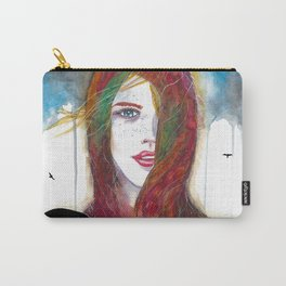 I'll Fly Away Carry-All Pouch