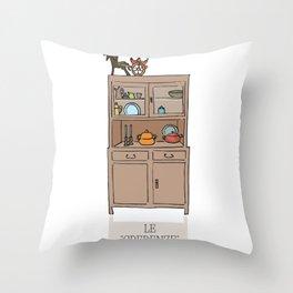 "Le ""credenze"" della mamma 2 by Laura Pizzicalaluna Throw Pillow"