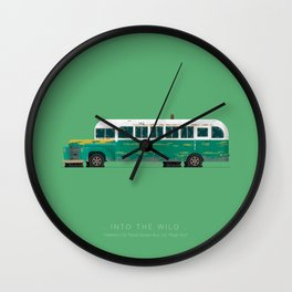 Into The Wild | Famous Cars Wall Clock