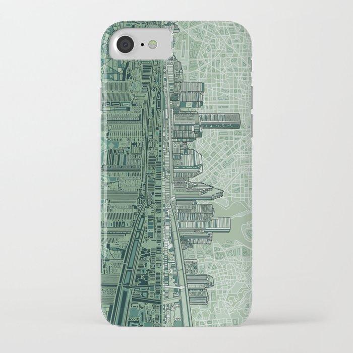 Houston City Skyline IPhone Case By Bekimart