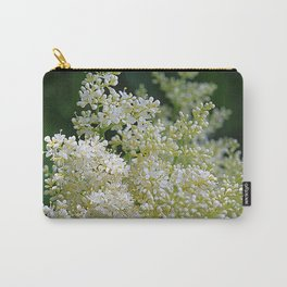 Snowy lilac blossoms Carry-All Pouch