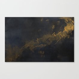 Golden Dust Canvas Print