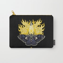 Moths to a Flame Carry-All Pouch