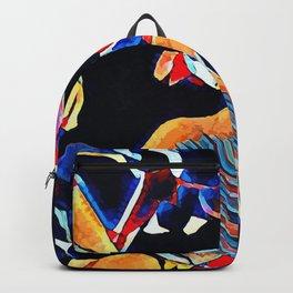 Hot Lava ~ Horse Skull Backpack