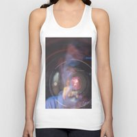 inception Tank Tops featuring Camera Inception by Devon Pankiw