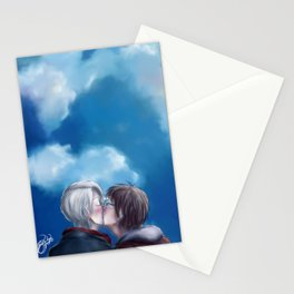 My love to keep you warm Stationery Cards