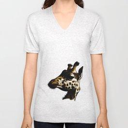 giraffa 01 Unisex V-Neck