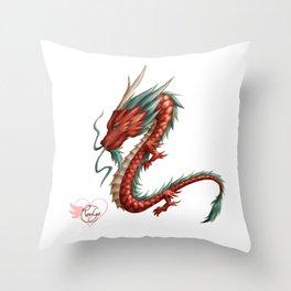 Dragon pure Throw Pillow